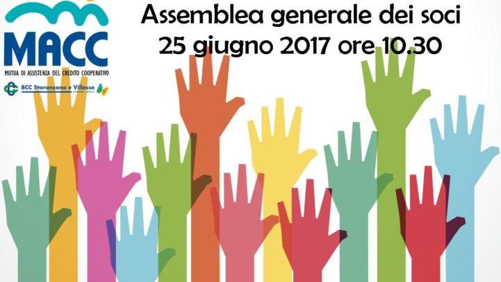 Convocazione Assemblea Generale 2017