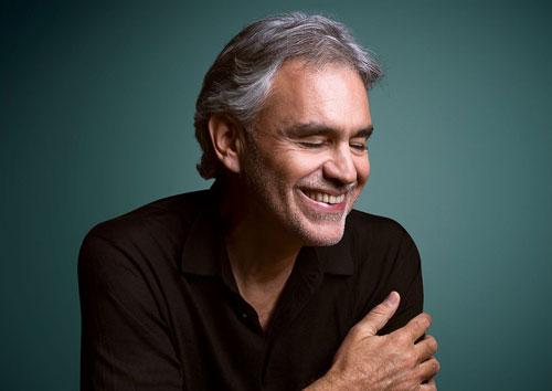 7 marzo: concerto Andrea Bocelli